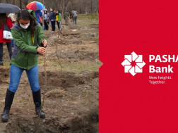PASHA Bank joins tree planting and clean-up campaign in Krtsanisi Forest Park