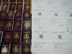 ყალბი პასპორტები